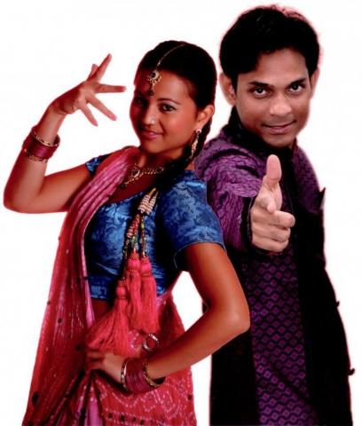 Indische Tanzshow Buchen
