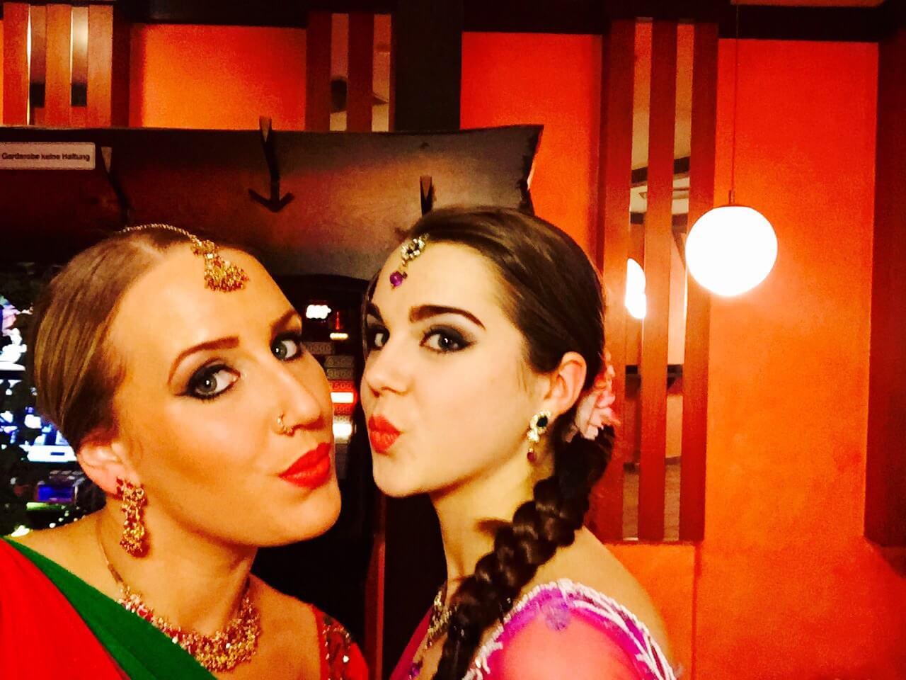 Indische Tänzerin