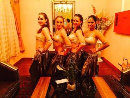 Bollywood Hochzeits Saal