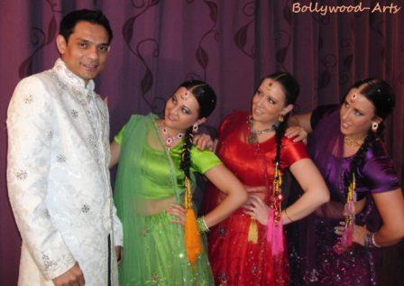 Bollywood Tanz lehrer