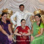 Indische Hochzeit Tanzgruppe