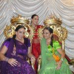 Indische Hochzeitstanz