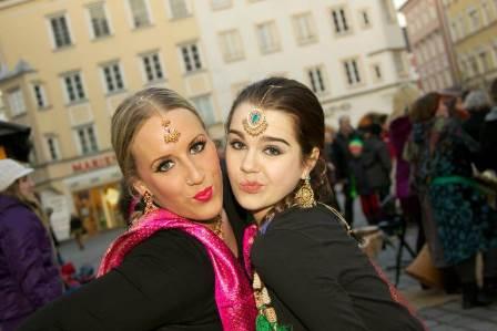 Indische Tänzerinnen