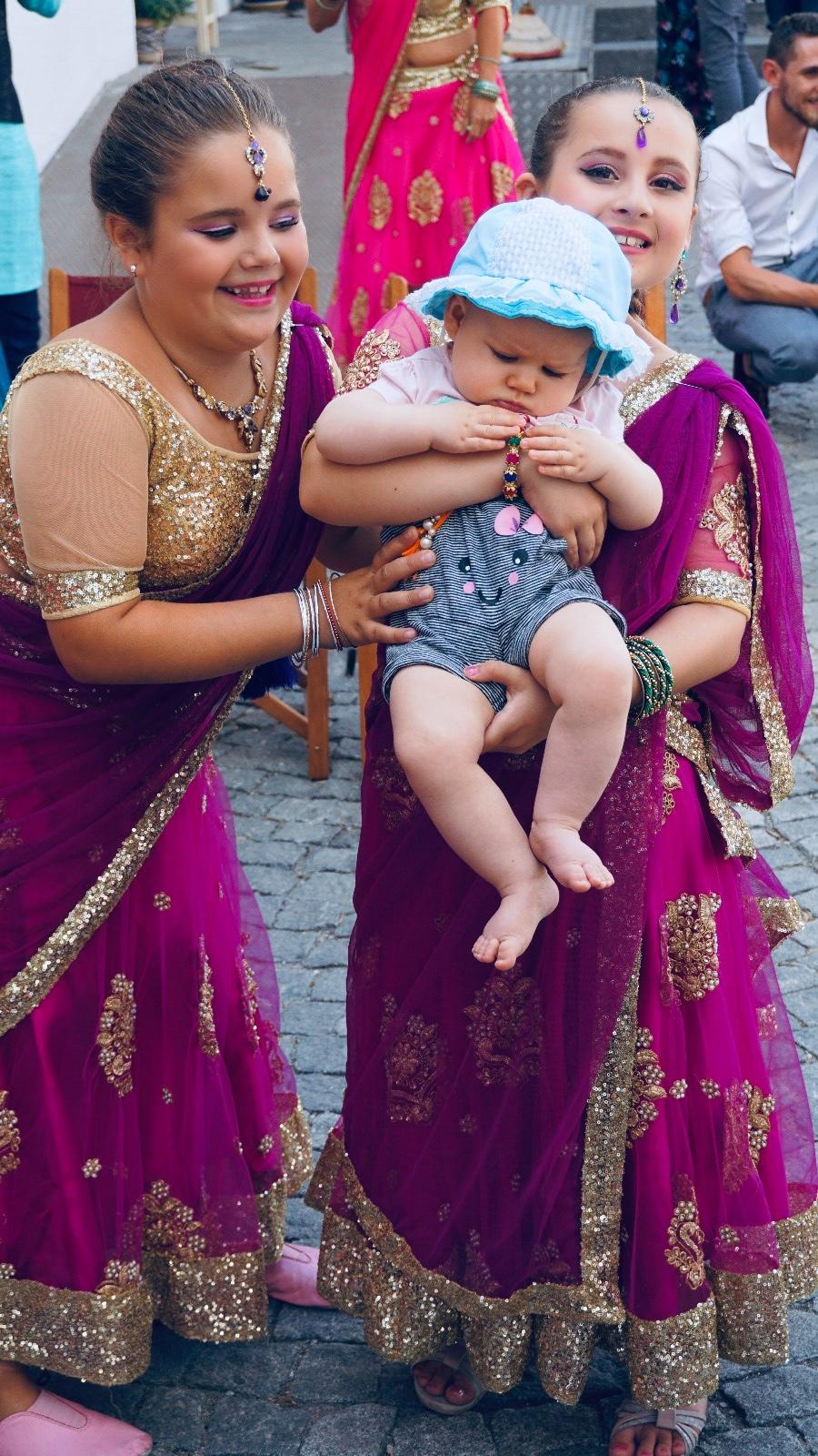 Indische Familie Rosenheim