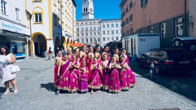 Kinder Tanzgruppe in Rosenheim